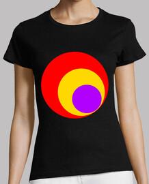 Camiseta Chica Círculos República