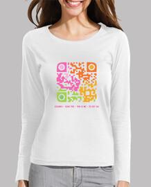 Camiseta chica Código QR - Yo soy así (chica)