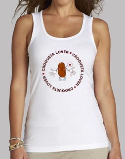 Camiseta chica Croqueta Lover