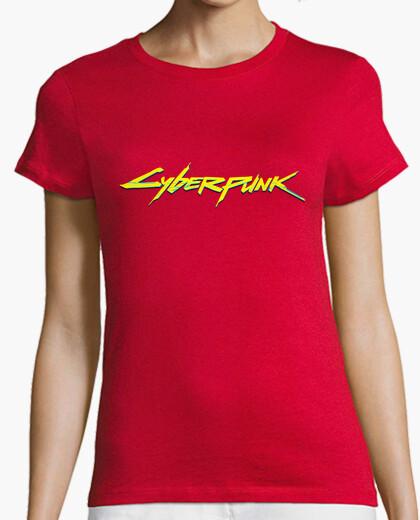 Camiseta chica Cyberpunk