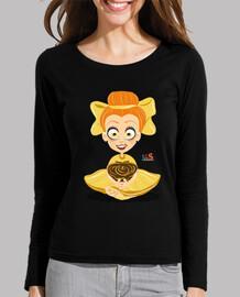 Camiseta chica de manga larga/ Mariette AlfsToys Boo