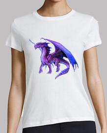 Camiseta Chica Dragón Púrpura