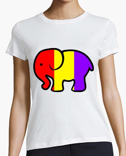 Camiseta Chica Elefante Republicano