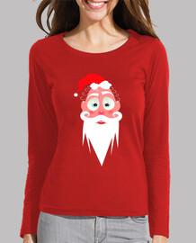 Camiseta chica entallada de manga larga/Santa Lolo AlfsToys