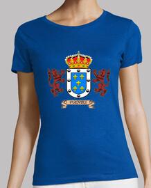 Camiseta Chica Escudo Apellido Fuentes