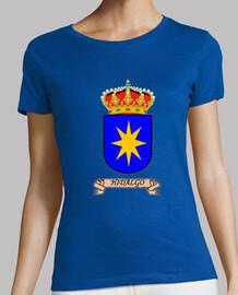Camiseta Chica Escudo Apellido Hidalgo
