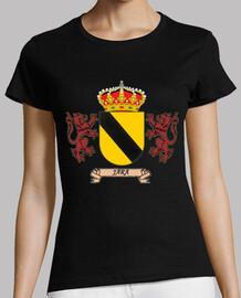 Camiseta Chica Escudo Apellido Jara