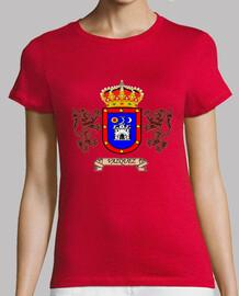 Camiseta Chica Escudo Apellido Vazquez