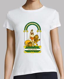 Camiseta Chica Escudo de Andalucía