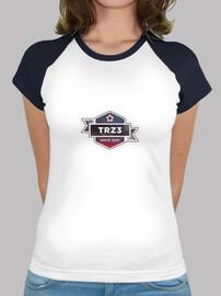 Camiseta chica estilo beisbol TRZ3  Trillizos0201