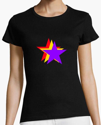 Camiseta Chica Estrellas República
