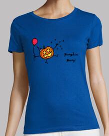 Camiseta chica Halloween: calabaza