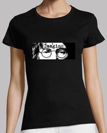 Camiseta chica Imagine