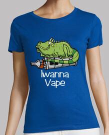 Camiseta chica Iwanna