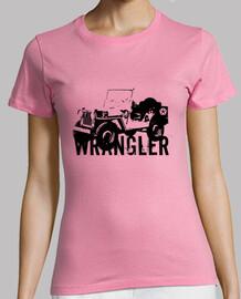 camiseta chica jeep w