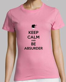 Camiseta chica 'KEEP CALM'