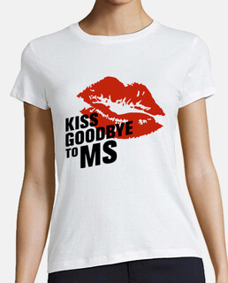 Camiseta chica Kiss Goodbye To MS