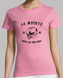 Camiseta chica La Muerte (negro)