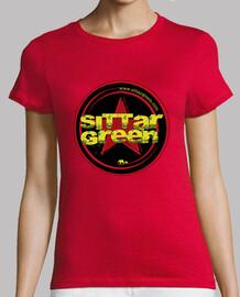 Camiseta chica logo Sittar 2017 red