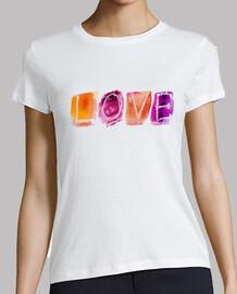 Camiseta chica LOVE