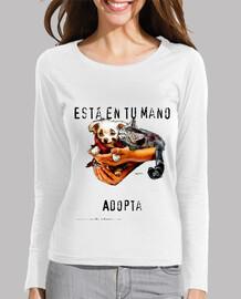 Camiseta chica ml. Está en tus manos