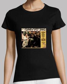 camiseta chica negra-the island of lost souls