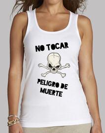 Camiseta chica NO TOCAR