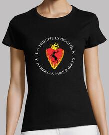 Camiseta chica Noche oscura