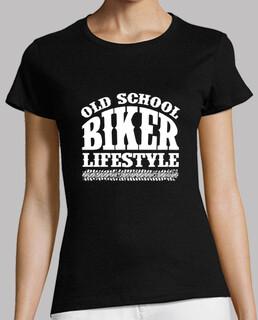 camiseta chica old school lebensstil