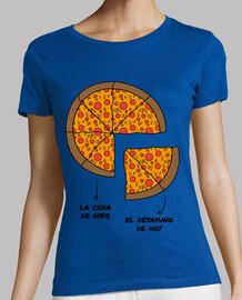 Camiseta Chica Pizza Desayuno