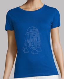 Camiseta chica R2-D2