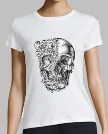 camiseta chica skull