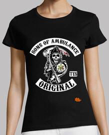 Camiseta chica Sons of Ambulance