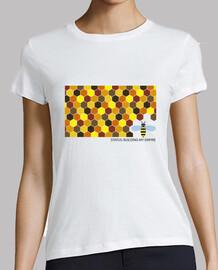 Camiseta chica Status: building my empire