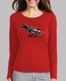 Camiseta Chica Trio de Albertosaurus