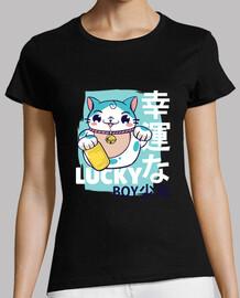 Camiseta chico afortunado