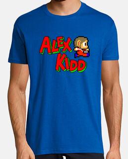 camiseta chico alex kidd