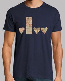 Camiseta chico Amor Mod II