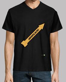 Camiseta chico: ¡Apunta alto!