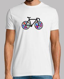 Camiseta chico bicicleta
