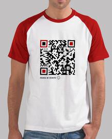 Camiseta chico CÓDIGO QR - Voy de incógnito...