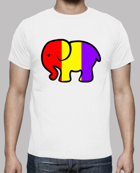 Camiseta Chico Elefante Republicano