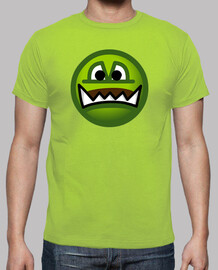 Camiseta Chico Emoticono Ogro