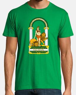 Camiseta Chico Escudo de Andalucía