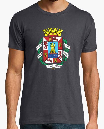 Camiseta Chico Escudo de Cartagena