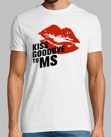 Camiseta chico Kiss Goodbye To MS