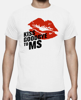 Camiseta chico Kiss Goodbye To MS