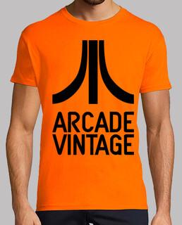 Camiseta Chico Logo Ataricade Vintage