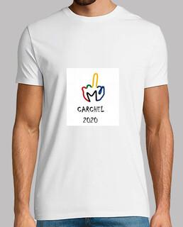 CAMISETA CHICO LOGO CARCHEL 2020