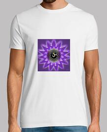 Camiseta Chico Mandala 3D